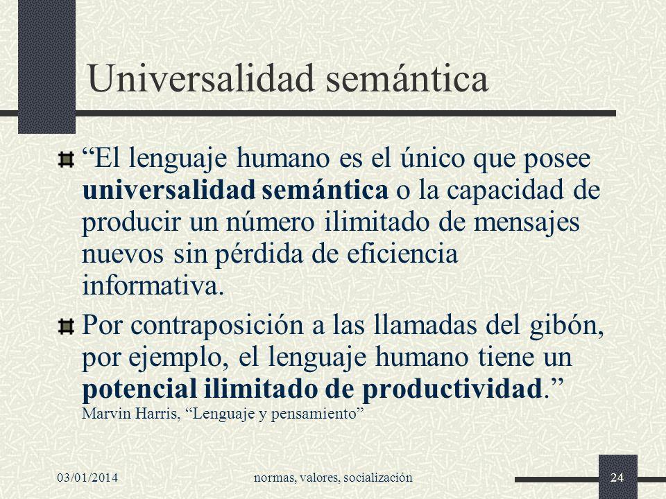 Universalidad semántica