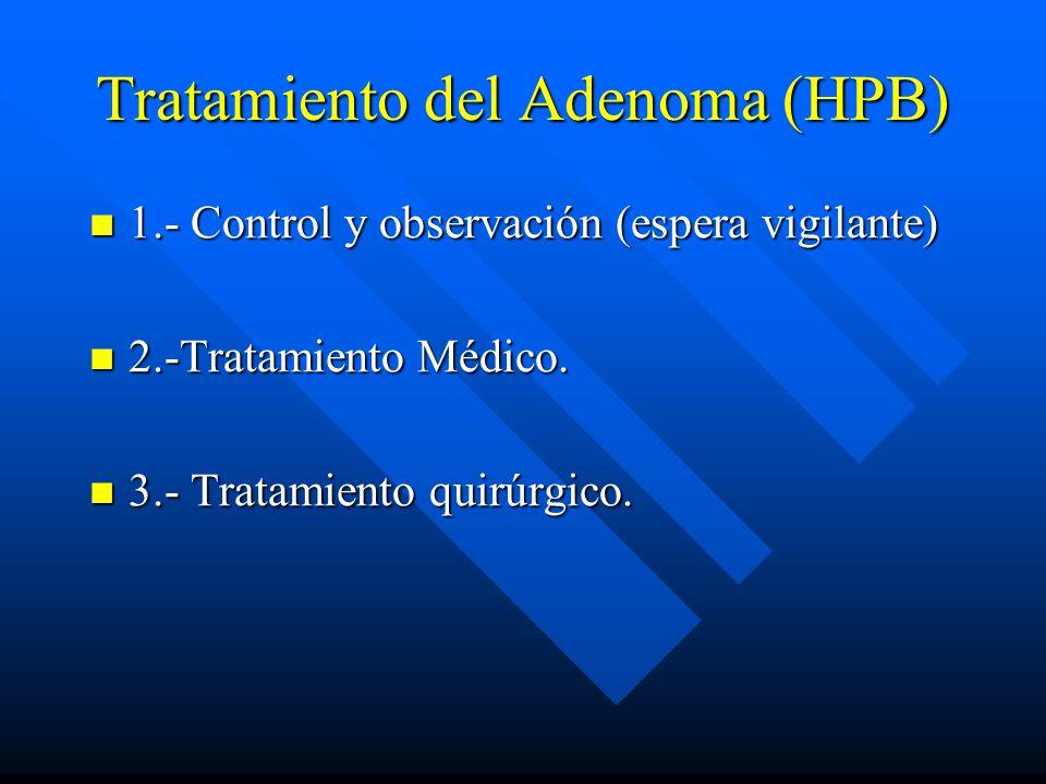 Tratamiento del Adenoma (HPB)