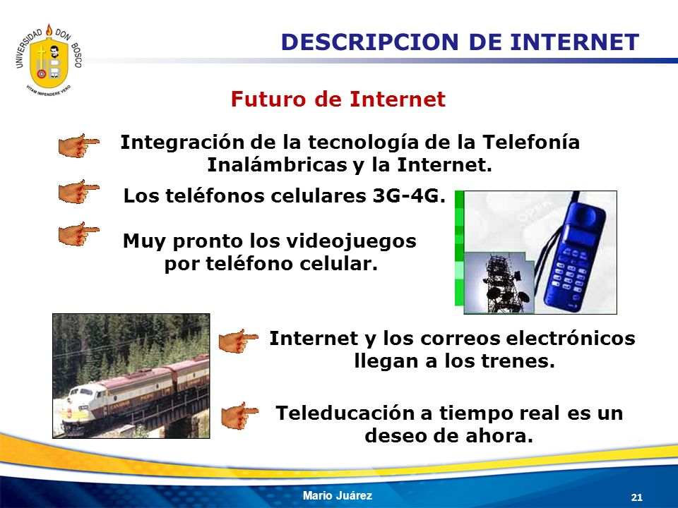 DESCRIPCION DE INTERNET