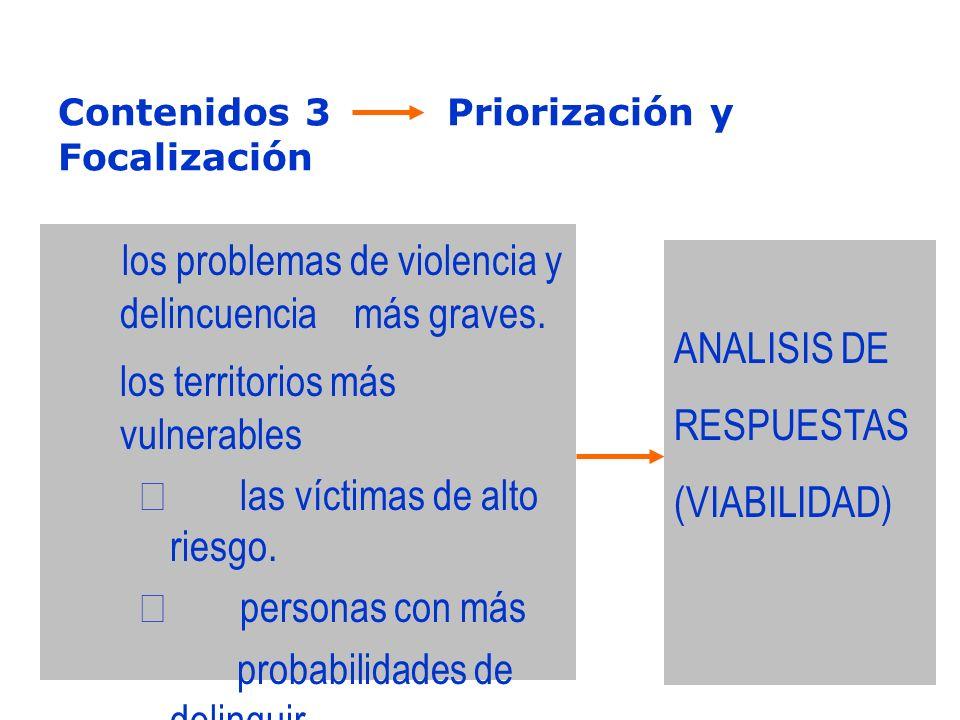 Contenidos 3 Priorización y Focalización