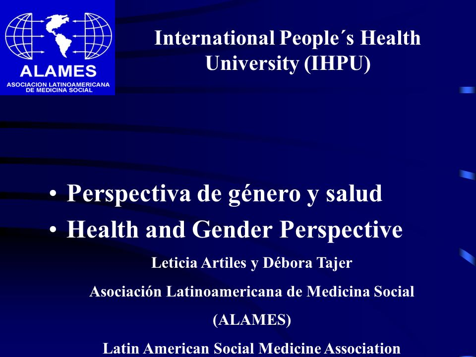 International People´s Health University (IHPU)