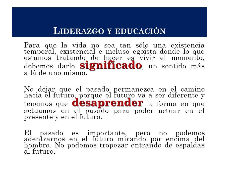 Liderazgo y educación