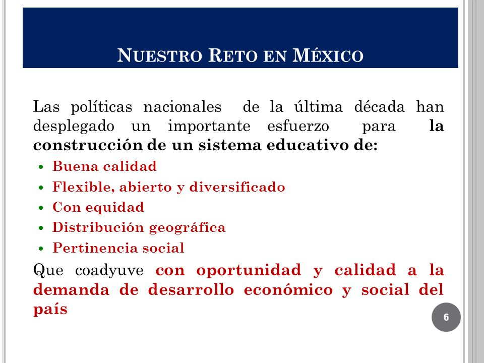 Nuestro Reto en México