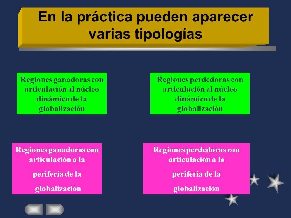 En la práctica pueden aparecer varias tipologías