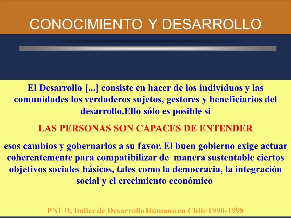 CONOCIMIENTO Y DESARROLLO