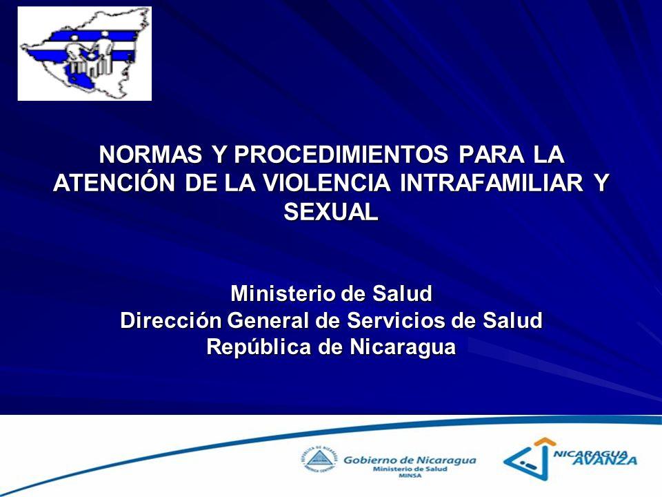 Dirección General de Servicios de Salud República de Nicaragua