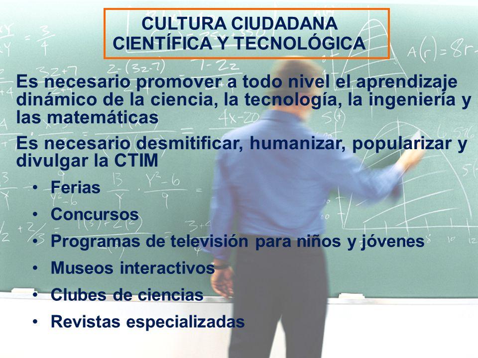 CIENTÍFICA Y TECNOLÓGICA