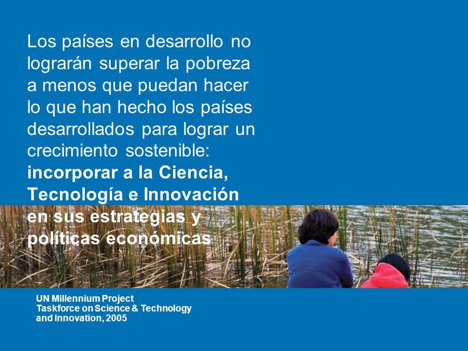 Inversi n en cyt y educaci n en ciencias para la for Tecnologia sostenible