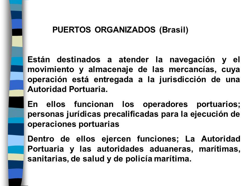 PUERTOS ORGANIZADOS (Brasil)