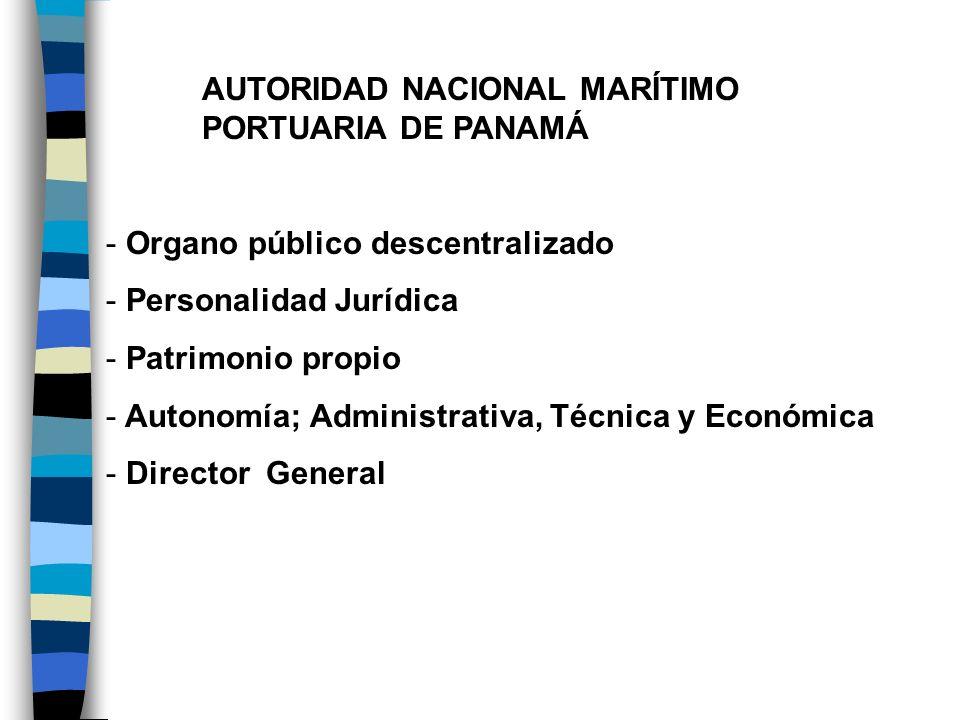 AUTORIDAD NACIONAL MARÍTIMO PORTUARIA DE PANAMÁ