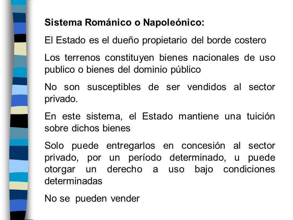 Sistema Románico o Napoleónico: