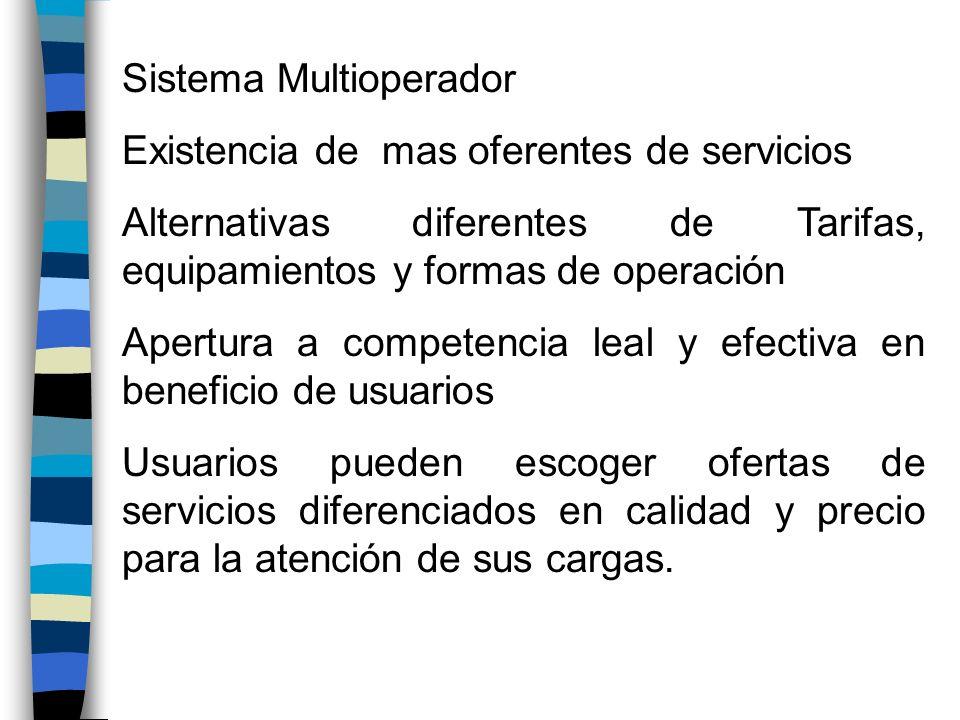 Sistema Multioperador