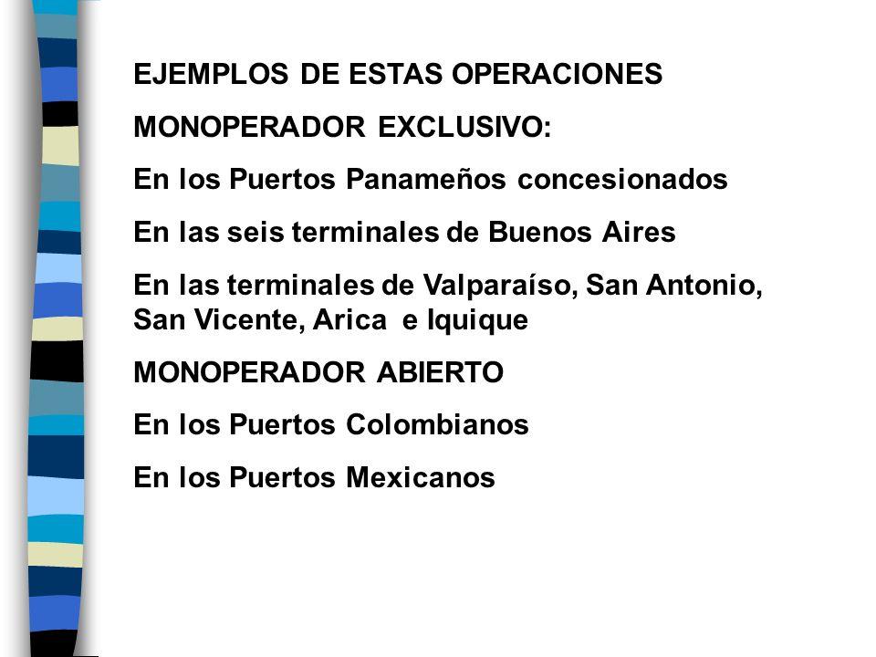EJEMPLOS DE ESTAS OPERACIONES
