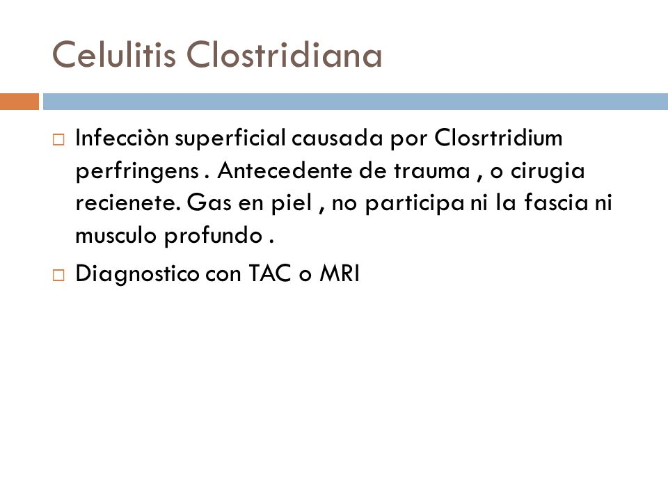 Celulitis Clostridiana