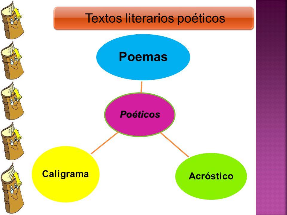Textos literarios poéticos