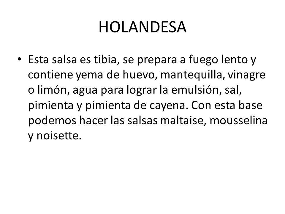 HOLANDESA
