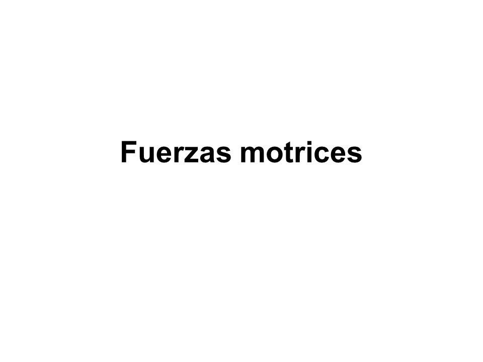 Fuerzas motrices