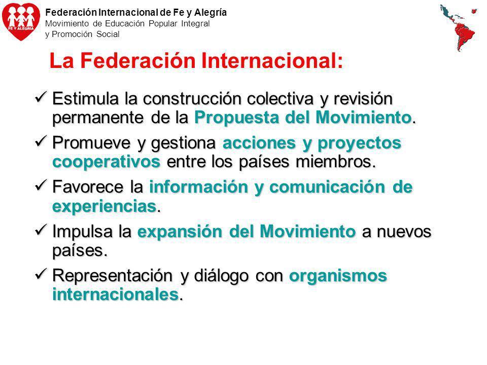 La Federación Internacional: