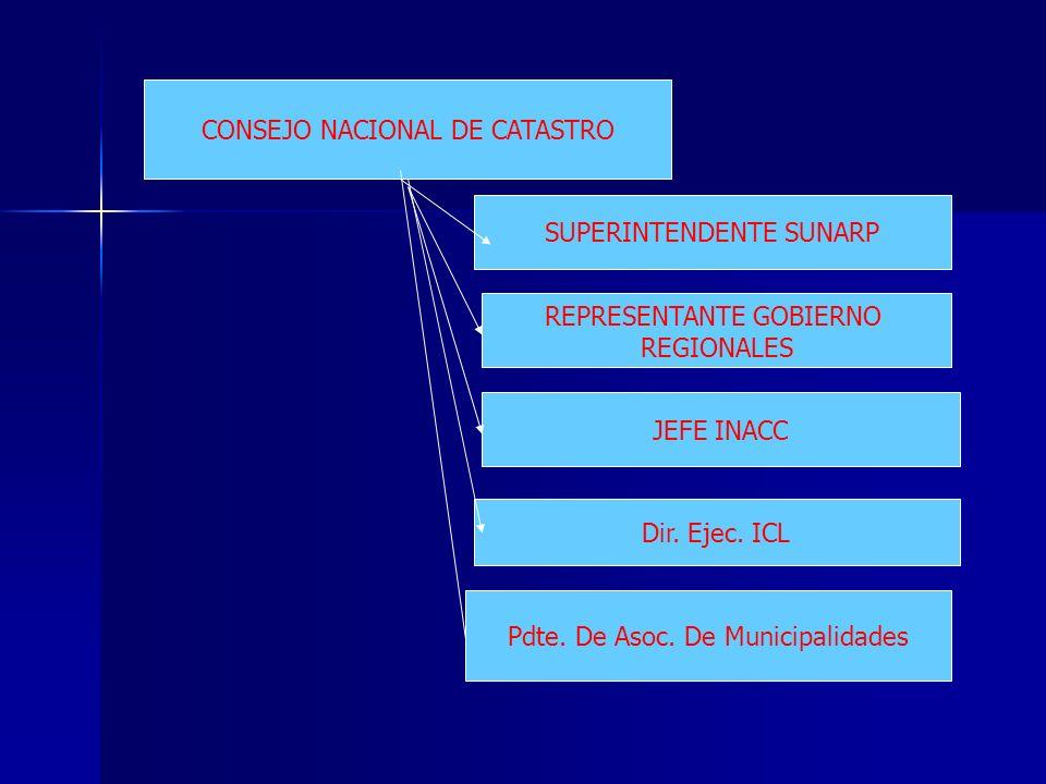 CONSEJO NACIONAL DE CATASTRO