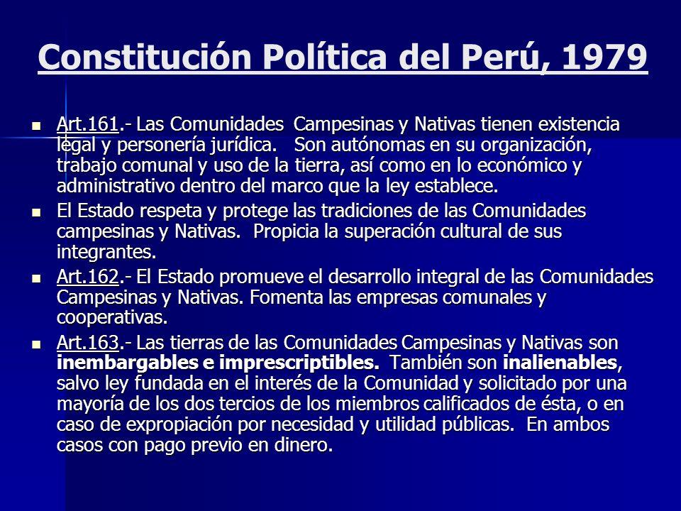Constitución Política del Perú, 1979