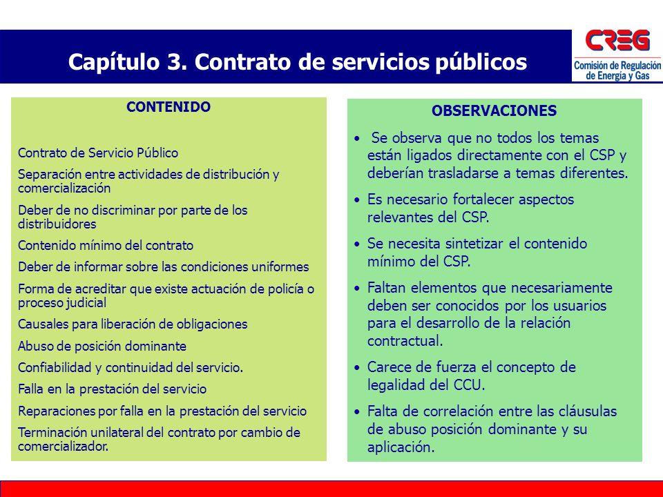 Capítulo 3. Contrato de servicios públicos