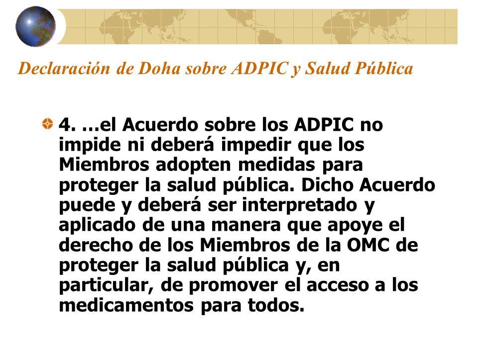 Declaración de Doha sobre ADPIC y Salud Pública