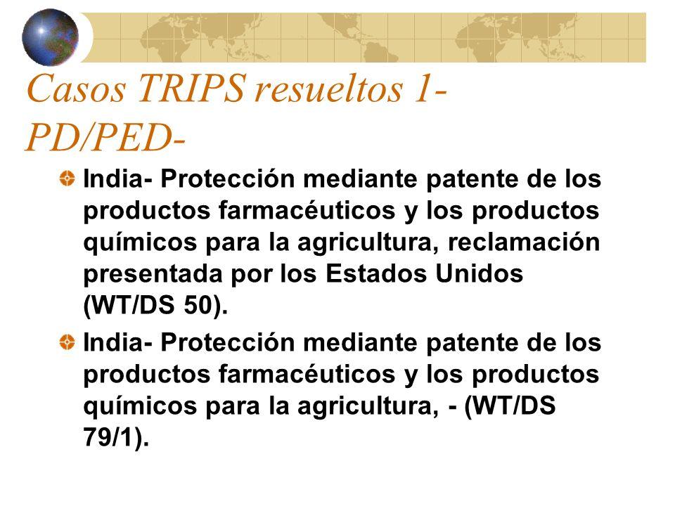 Casos TRIPS resueltos 1-PD/PED-