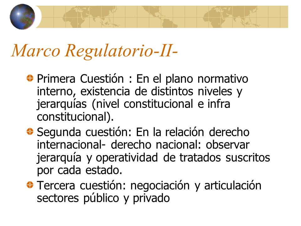 Marco Regulatorio-II-