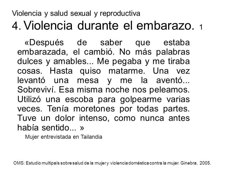 Violencia y salud sexual y reproductiva 4