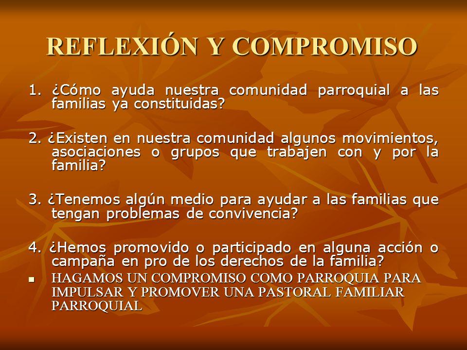REFLEXIÓN Y COMPROMISO