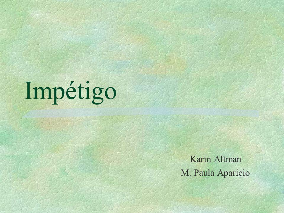 Karin Altman M. Paula Aparicio