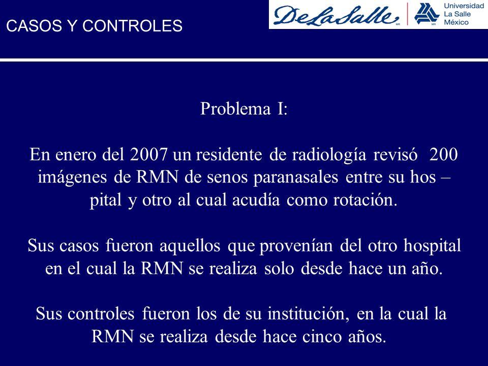 En enero del 2007 un residente de radiología revisó 200