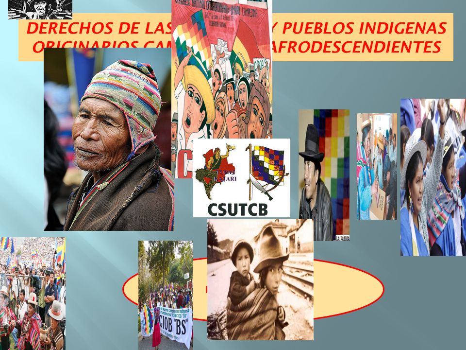 DERECHOS DE LAS NACIONES Y PUEBLOS INDIGENAS ORIGINARIOS CAMPESINOS Y AFRODESCENDIENTES