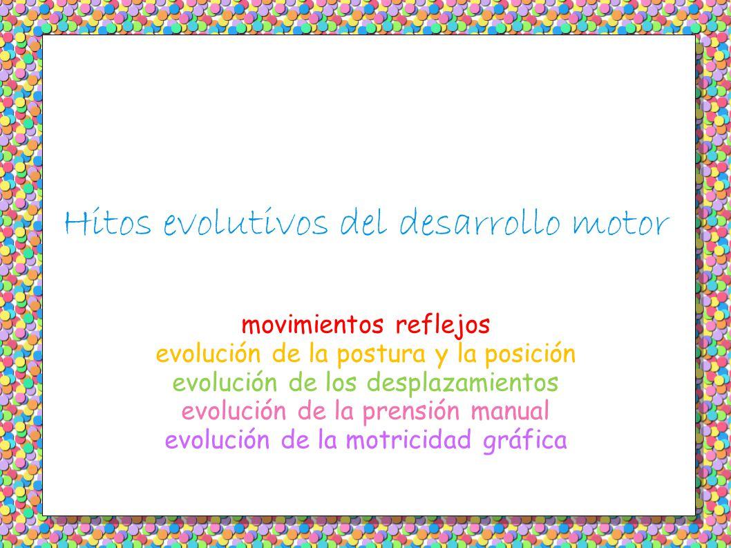 Hitos evolutivos del desarrollo motor
