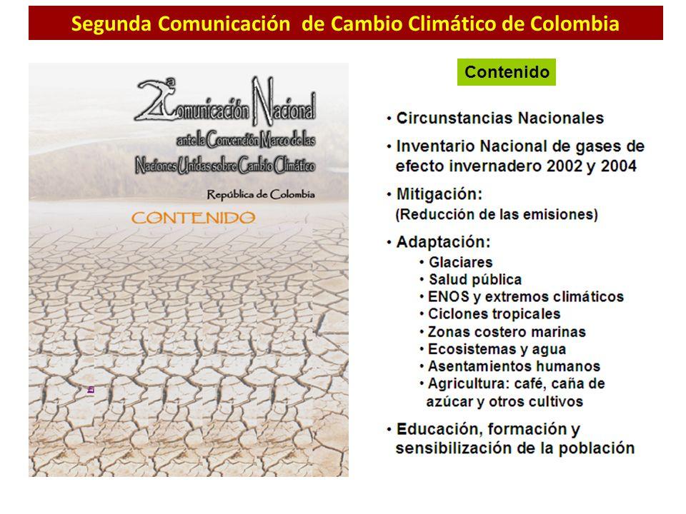 Segunda Comunicación de Cambio Climático de Colombia
