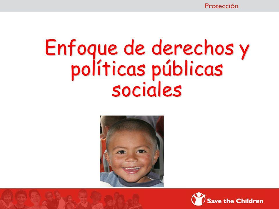 Enfoque de derechos y políticas públicas sociales