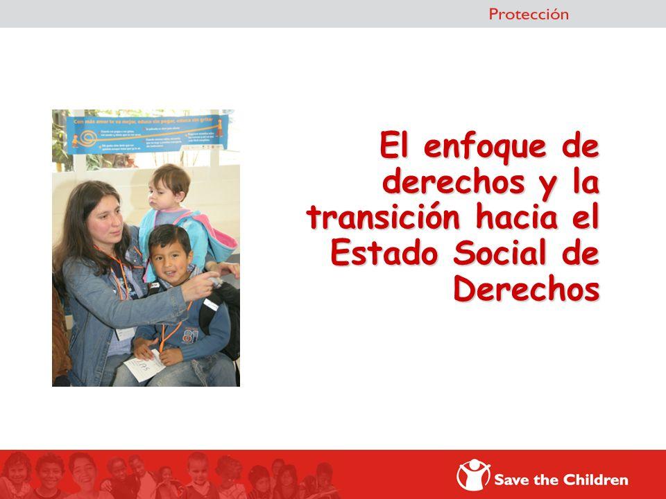 El enfoque de derechos y la transición hacia el Estado Social de Derechos