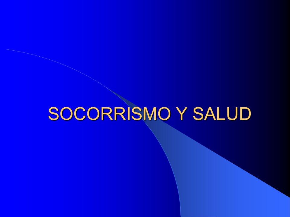 SOCORRISMO Y SALUD