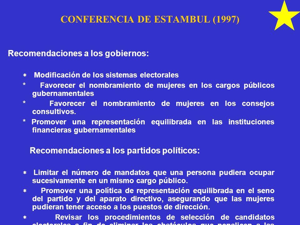 CONFERENCIA DE ESTAMBUL (1997)