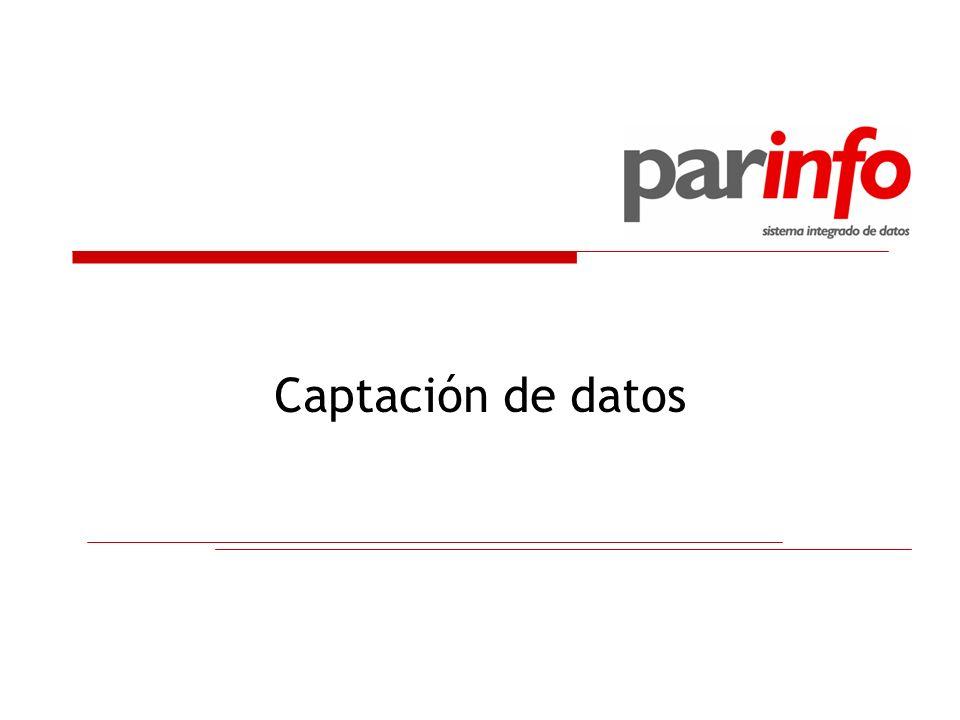 Captación de datos