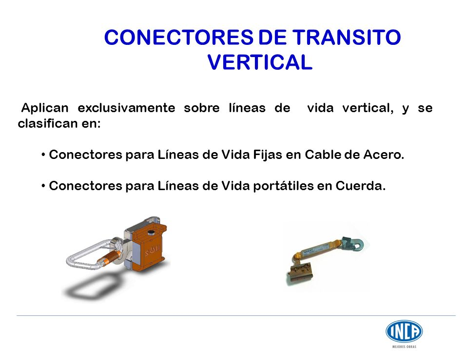 CONECTORES DE TRANSITO VERTICAL