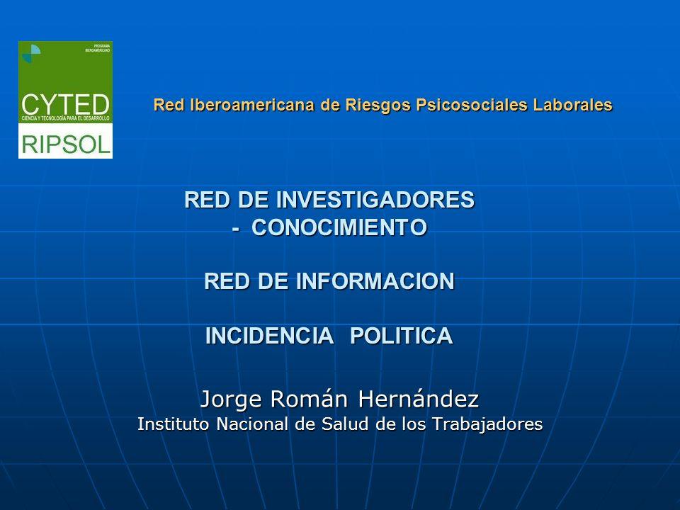 Jorge Román Hernández Instituto Nacional de Salud de los Trabajadores