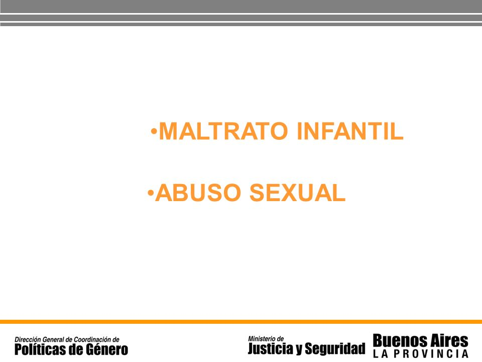 MALTRATO INFANTIL ABUSO SEXUAL