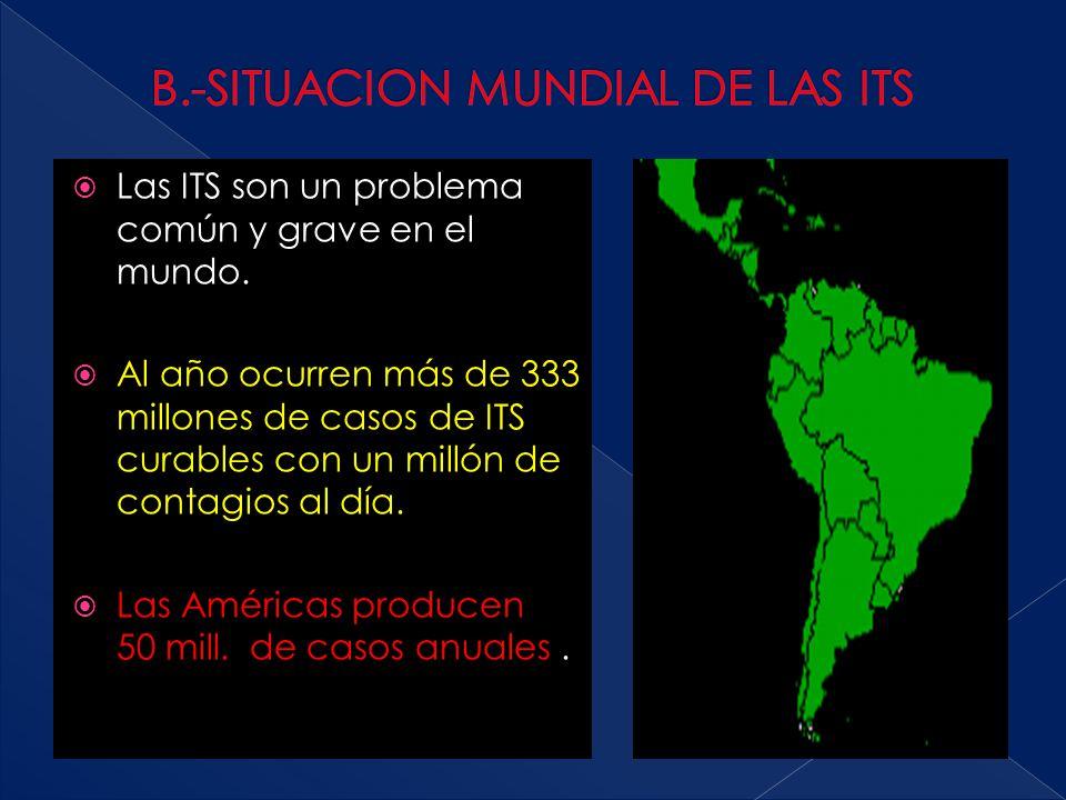 B.-SITUACION MUNDIAL DE LAS ITS