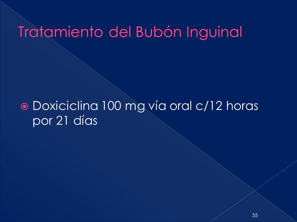 Tratamiento del Bubón Inguinal