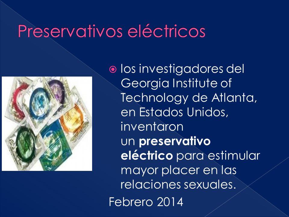 Preservativos eléctricos