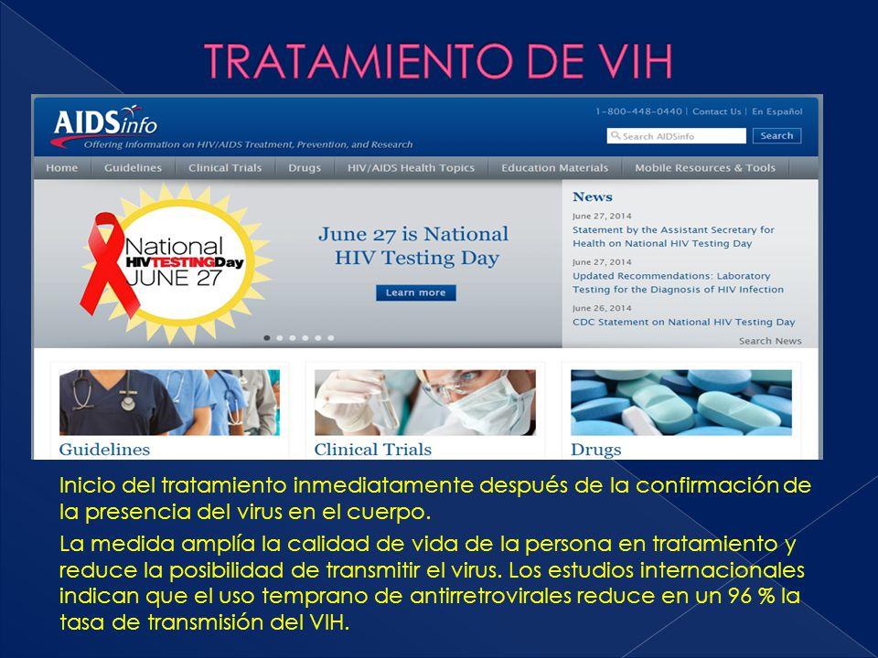 TRATAMIENTO DE VIH