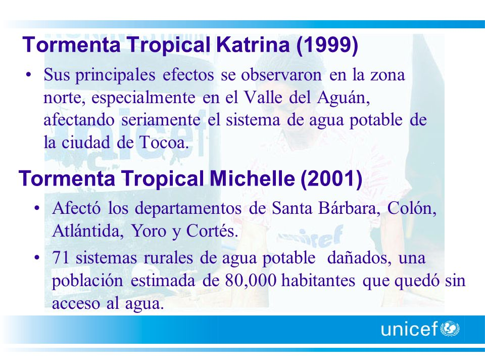 Tormenta Tropical Katrina (1999)