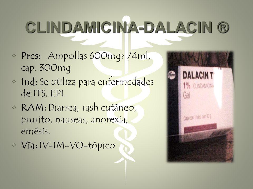 CLINDAMICINA-DALACIN ®