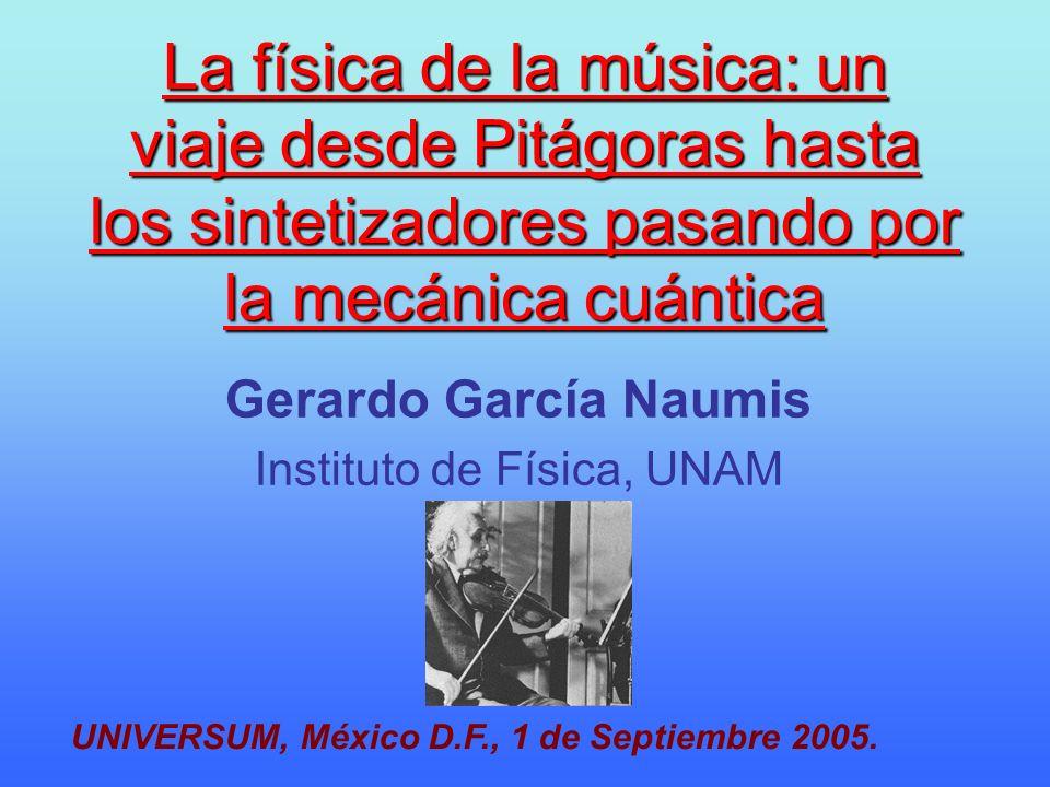 Gerardo García Naumis Instituto de Física, UNAM